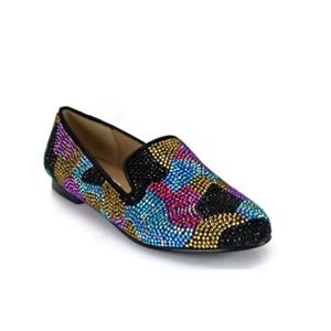 Steve Madden Conncord Crystal Camo Loafer